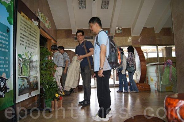 林業陳列館提供學子探索與學習多功能教室。(詹亦菱/大紀元)