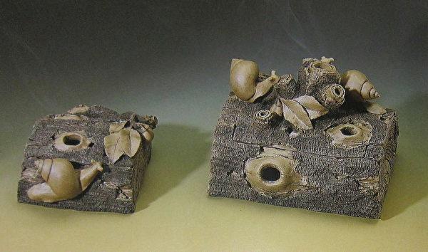 《半片木蜗香炉》。(钟元翻摄/大纪元)