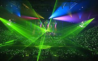 蘇打綠披新戰袍四度攻蛋 舞台燈光超炫