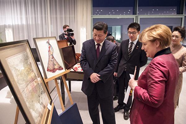 德國總理默克爾出訪中國