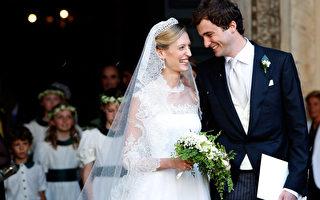 组图:比利时王子与意大利女友罗马大婚