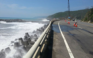 巨浪打上南回  中午恢复4线道