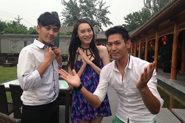 陈德烈邀黄靖伦 走访北京尝昆虫宴