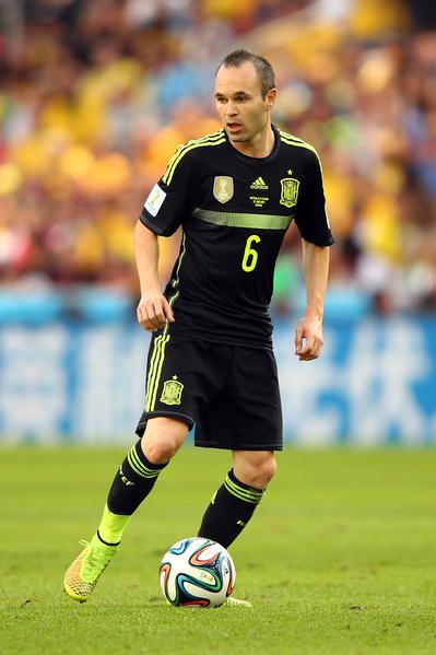 伊涅斯塔(Andres Iniesta)。 (Ian Walton/Getty Images)