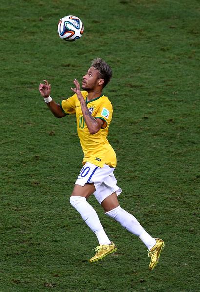 内马尔(Neymar)。(Michael Steele/Getty Images)