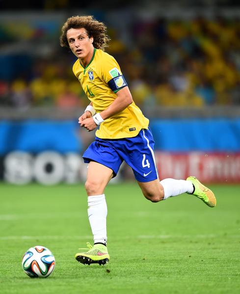 大卫·路易斯(David Luiz)。(Laurence Griffiths/Getty Images)