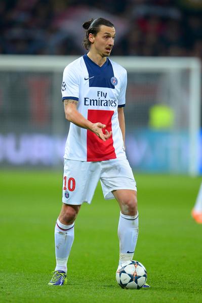 伊布拉希莫维奇(Zlatan Ibrahimovic)。(Dennis Grombkowski/Bongarts/Getty Images)