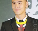 王柏杰、阮经天、苗可丽、钮承泽7月14日在台北出席新片发布会(黄宗茂/大纪元)