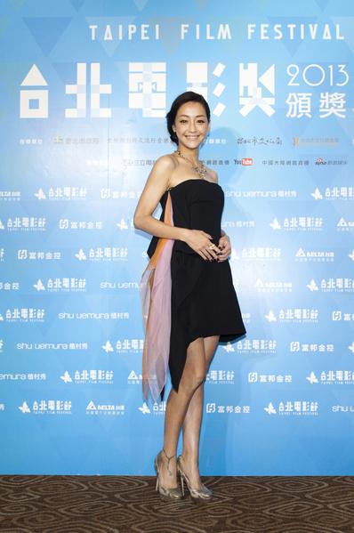 谢欣颖以《消失打看》、《命运化妆师》获得台北电影奖影后,将与高捷合颁奖项。(台北电影节提供)