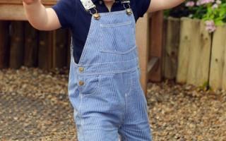 英国小王子乔治周岁 低调庆生