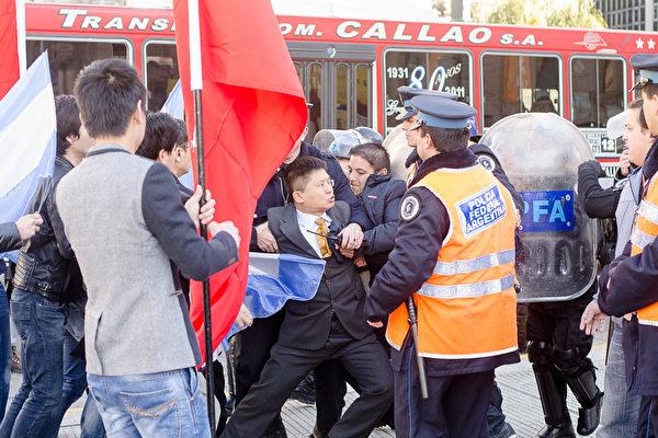 视频公开习近平车队离开阿根廷国会后的一幕