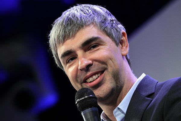 谷歌共同创始人佩奇(Larry Page)说,他宁可将财产捐给像特斯拉执行长马斯克这样有理想抱负的企业家,因为他们胸怀大志,想要改变世界。(Getty Images)