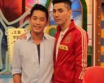 Junior與王凱兩人同為好友,也同樣因演出《雨後驕陽》而爆紅。(中天提供)