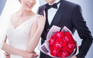 林千鈺(左)情歸舊愛焦恩俊今年3月完成文定,24日曝光婚紗照。(民視提供)
