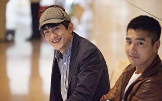 林更新與趙又廷組成「真英雄搭檔」。(公關提供)