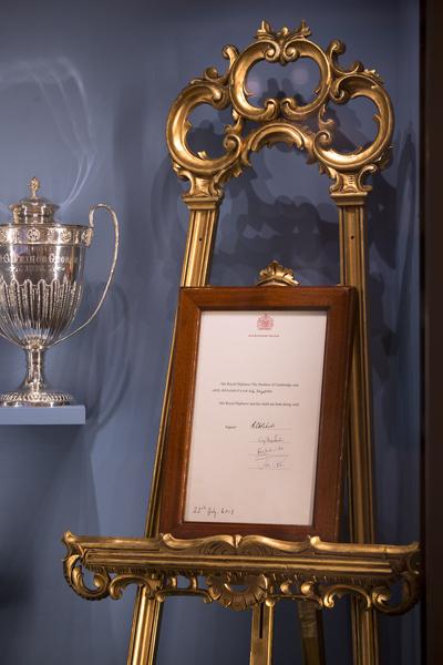 喬治王子的出生證明。(Oli Scarff/Getty Images)