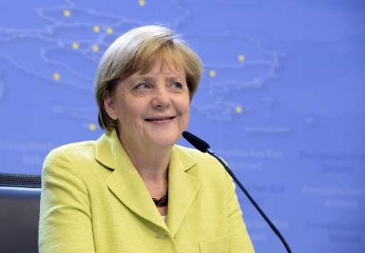 德國總理安格拉.默克爾(Angela Merkel)。(THIERRY CHARLIER/AFP)