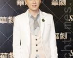 李國毅日前在台北出席三立「華劇四帥」公佈記者會。(黃宗茂/大紀元)