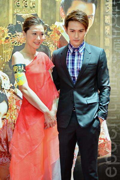 周丽淇和男友徐正曦是因此剧相识相恋。(宋祥龙/大纪元)