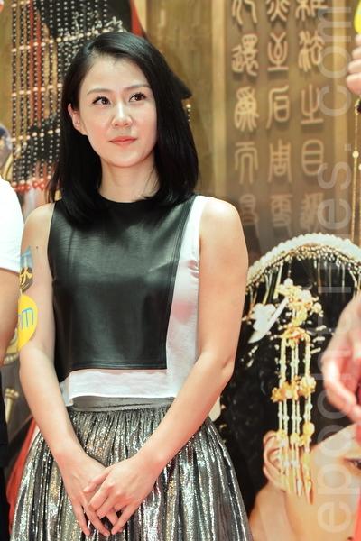 中国女演员李欣聪。(宋祥龙/大纪元)