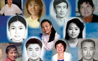 15年来被中共非法判刑并虐杀的法轮功学员案例统计