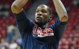 NBA杜蘭特退出 美國隊戰力大傷