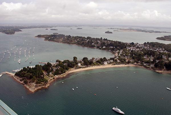 法國布列塔尼區莫爾比昂海灣(Morbihan bay)(MARCEL MOCHET/AFP)