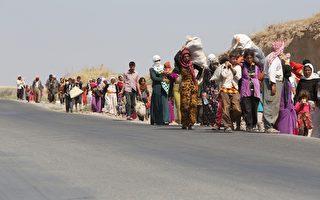 美军空袭成功 伊拉克数千受困难民获救