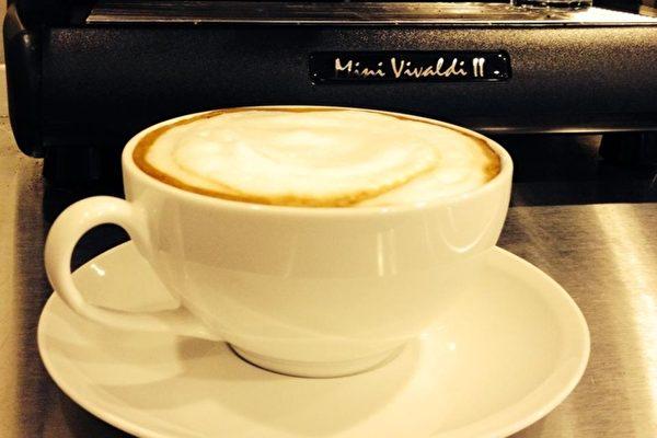 """""""天梯咖啡屋""""的咖啡。(大纪元图片)"""