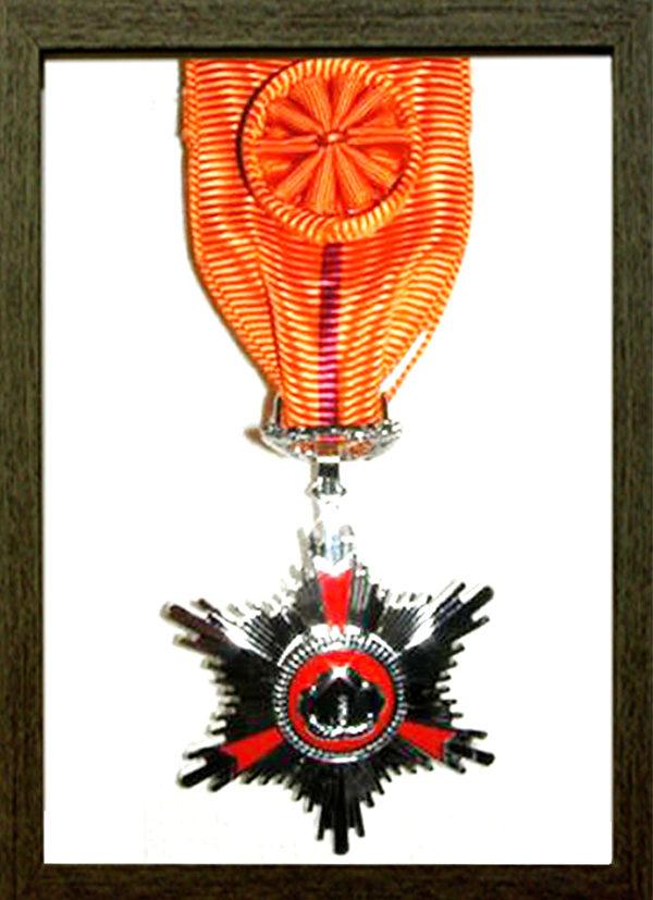 PQ10化妆品系列总统勋章(菲露丝化妆品公司提供)