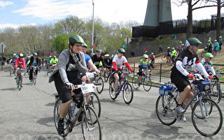 骑车人被撞身亡 纽约警察强化执法