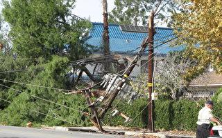 2011年大风停电 南加爱迪生将赔逾2千万