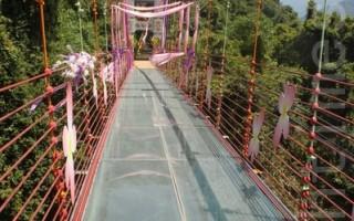 信義玻璃橋揭幕   下周試營運