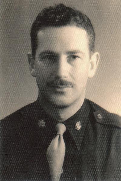 韩秀的父亲韩恩(Willie Hanen),这是被保存下来的唯一一张父亲的照片。(韩秀提供)