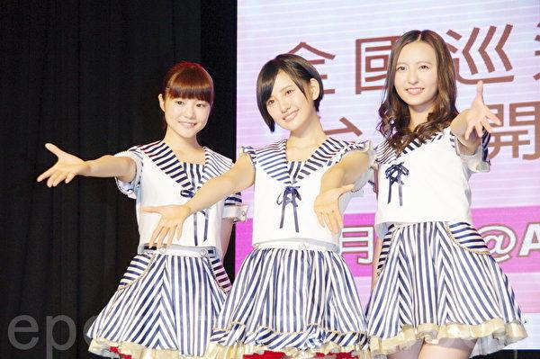 HKT48于8月25日在台北粉丝签名握手见面会。(黄宗茂/大纪元)