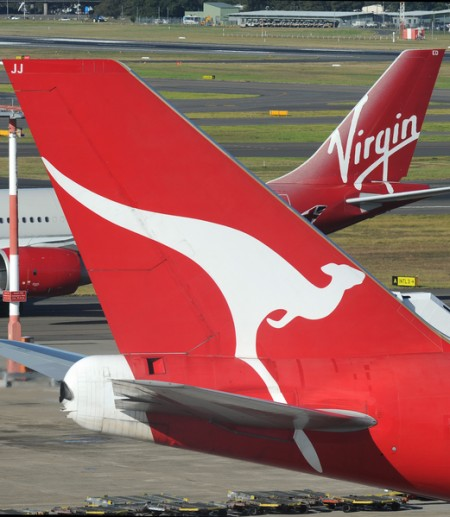 飞机起降时澳航维珍乘客无需关闭手机电脑