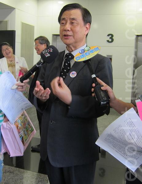 """9月10日""""世界自杀防治日""""即将到来,31日台湾自杀防治学会理事长李明滨接受记者采访表示,自杀防治方面,重要性在建立救人的关怀文化。(钟元/大纪元)"""