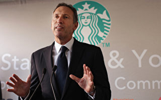 星巴克掌门人舒尔茨将辞去CEO职务