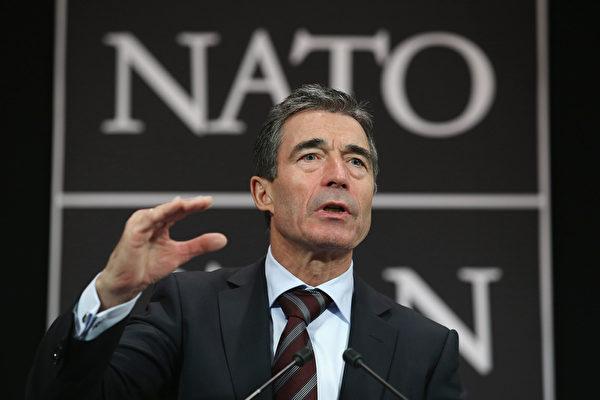 反制中共 前北约秘书长吁欧盟强化对台关系
