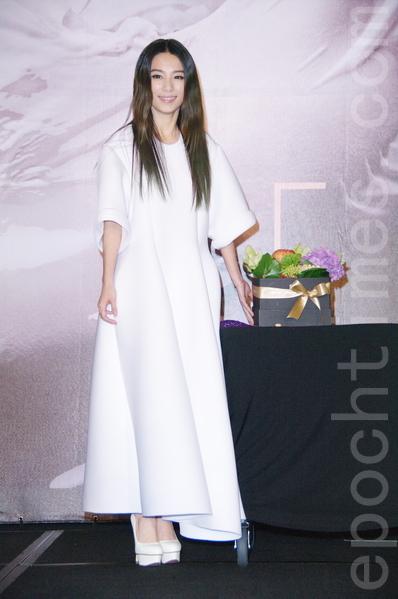 田馥甄于9月3日在台北举行个人首次大型巡回演唱会记者会。(黄宗茂/大纪元)