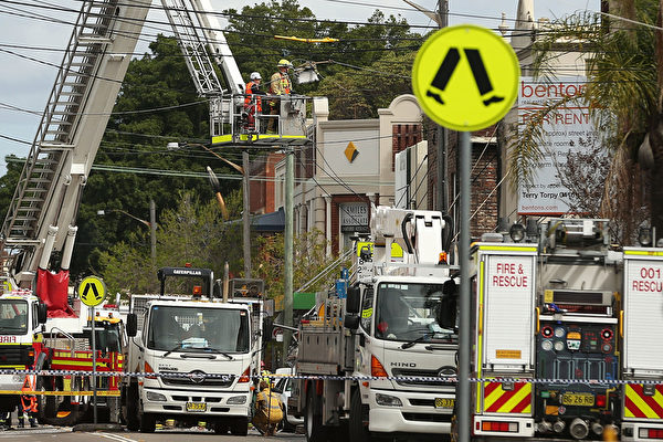 悉尼內西區羅澤爾發生大火 三人下落不明