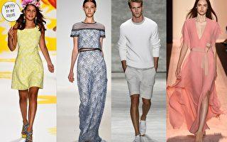 组图:2015纽约春夏时装周 古典浪漫开场