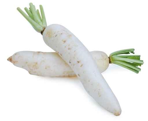 蘿蔔是肺臟的排毒食品。(fotolia)