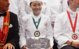 台湾甜心 世界厨师菁英赛获奖