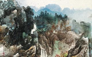 畅怀(彩墨)64×75cm(图片来源:画家提供)
