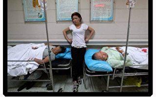 上海當局使用高壓滅火器暴力強拆民宅