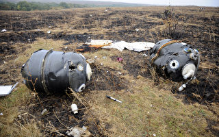 MH17墜毀 機身遭外物射穿解體