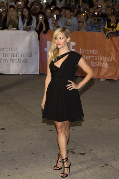 奧斯卡影后瑞茜·威瑟斯彭 (Reese Witherspoon) 在《重新做人》(Wild)國際首映禮亮相。(Evan Ning/大紀元)