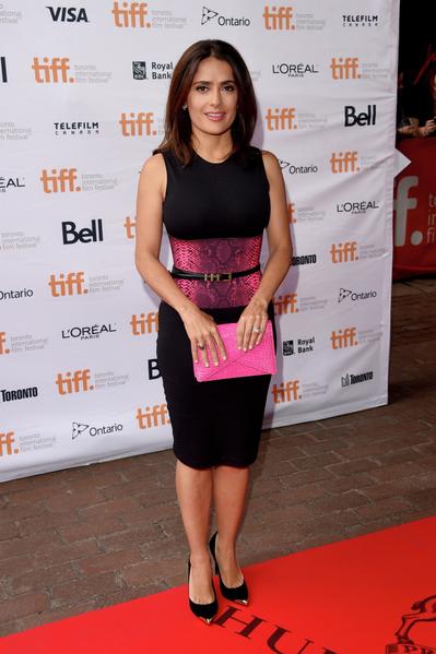 好萊塢女星薩爾瑪·海耶克(Salma Hayek)搖身變成卡通片《先知》(The Prophet)製片人,9月初來多倫多參展。(多倫多電影節提供)