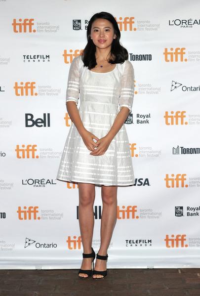 英國新片《X+Y》亞裔女主角Jo Yang 9月初在多倫多走紅毯。 (多倫多電影節提供)
